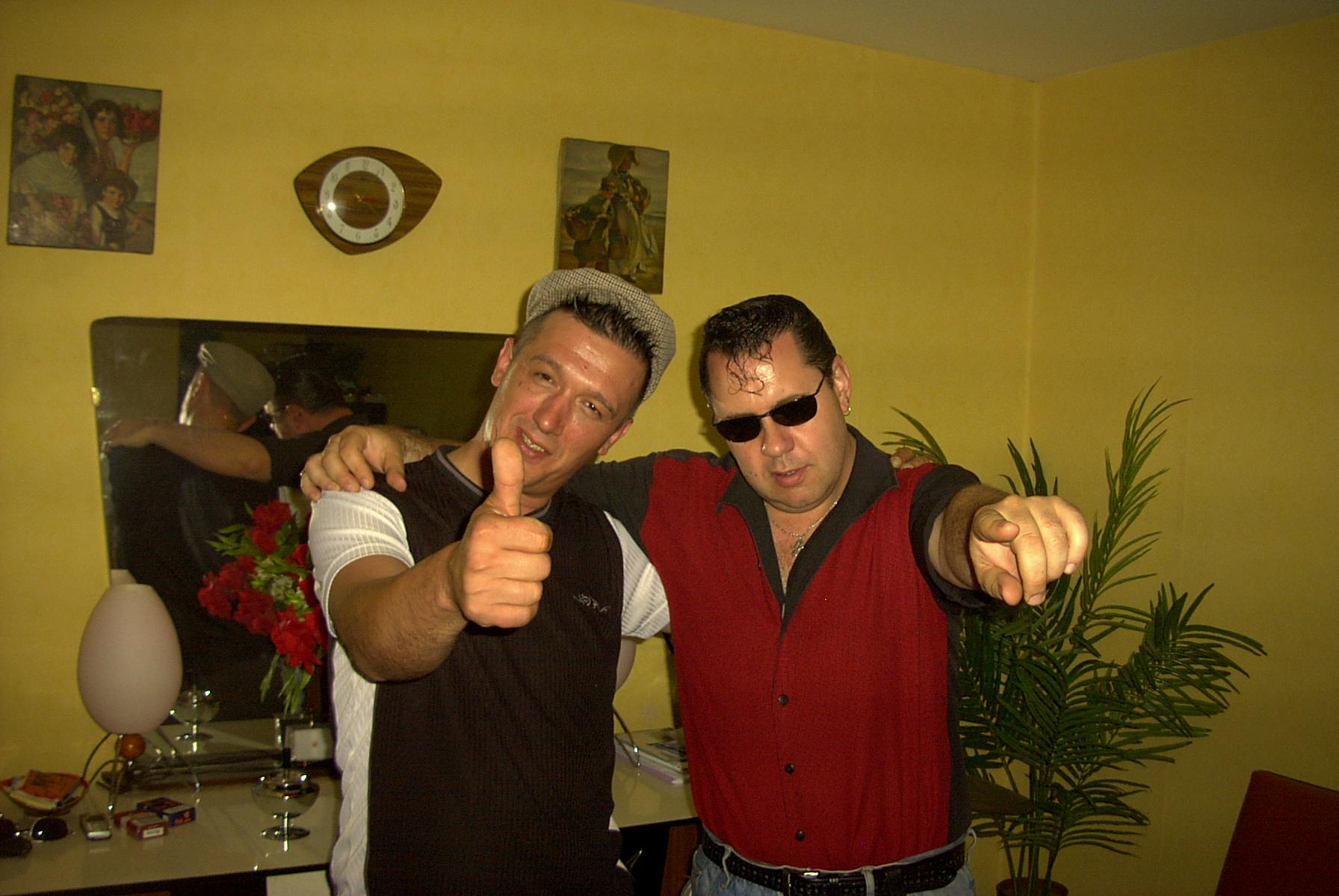 Rencontres entre rockeurs