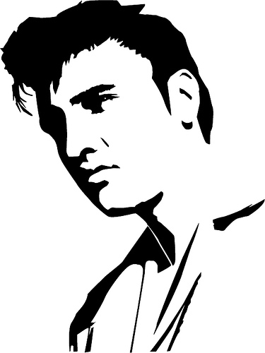 on elvis presley logo clip art